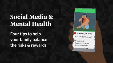 Social Media & Mental Health: Four Tips for Kids
