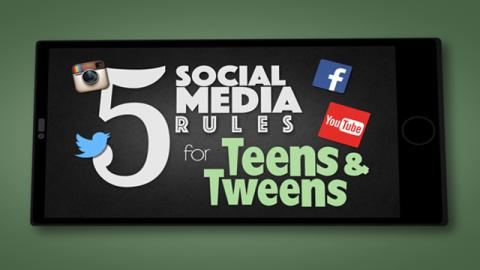 5 Social Media Rules for Teens and Tweens