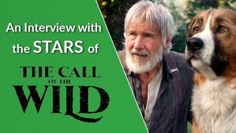 An Interview with the Stars of The Call of the Wild